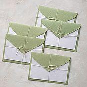 Материалы для творчества handmade. Livemaster - original item The envelope with the handmade card. Handmade.