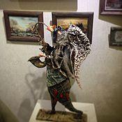 Куклы и игрушки ручной работы. Ярмарка Мастеров - ручная работа Бегущий ангел ,музыкант. Handmade.