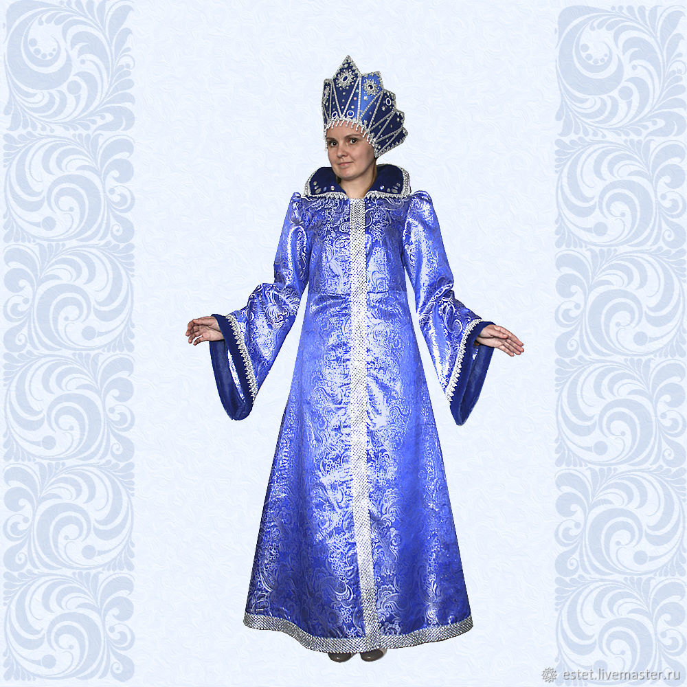 Costume of Snow Maiden, of the Snow queen, Winter Costume, Carnival costumes, Korolev,  Фото №1