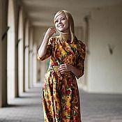 """Одежда ручной работы. Ярмарка Мастеров - ручная работа платье """"Осень"""". Handmade."""