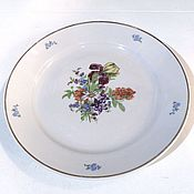 Винтаж handmade. Livemaster - original item Dish dining room IRIS Dulevo 60s. Handmade.