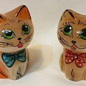 Камни ручной работы. Ярмарка Мастеров - ручная работа Кошка из камня Селенит. Handmade.