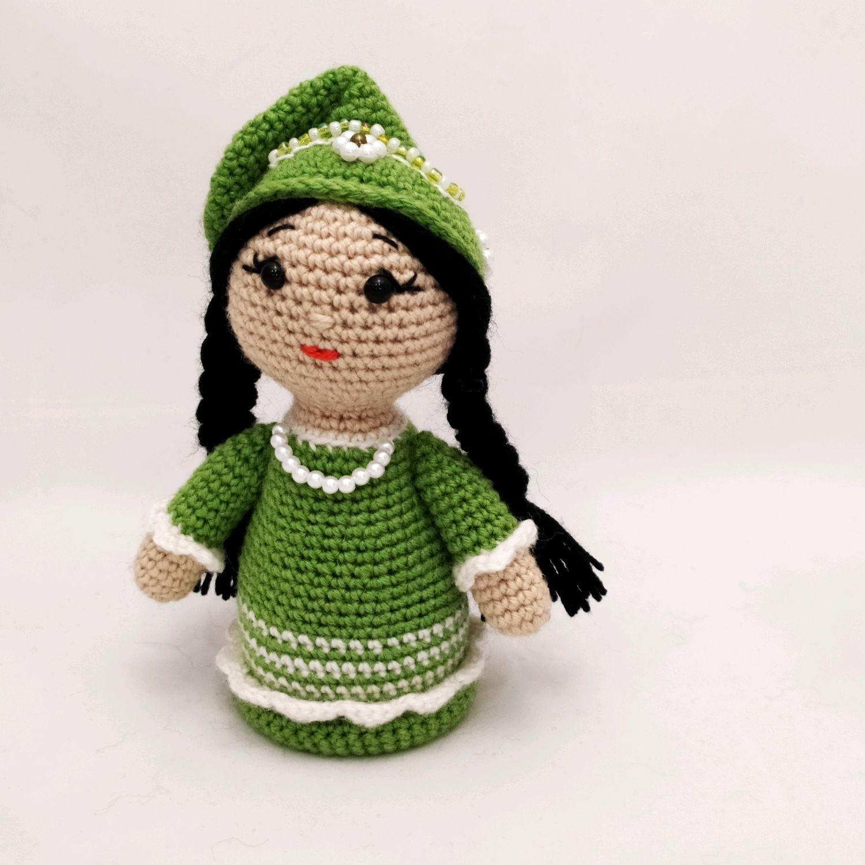 Вязаная Кукла в национальном татарском костюме – купить на ...