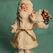 Подарки к праздникам ручной работы. Ярмарка Мастеров - ручная работа Ватный Дед Мороз. Handmade.