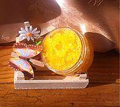 """Косметика ручной работы. Ярмарка Мастеров - ручная работа Сахарный скраб """"Радужный апельсин"""". Handmade."""