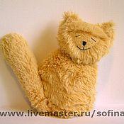 Куклы и игрушки ручной работы. Ярмарка Мастеров - ручная работа Довольный котик. Handmade.