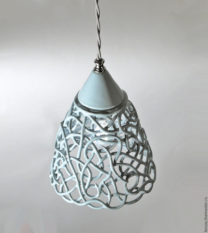 Smoky Azhur - ceramic lamp local lighting d15cm – shop online on Livemaster  with shipping - BTU3BCOM | Moscow