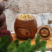 Посуда handmade. Livemaster - original item Wood Vase Handmade Siberian Elm #V13. Handmade.