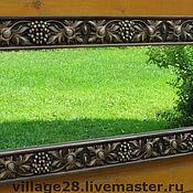 Для дома и интерьера ручной работы. Ярмарка Мастеров - ручная работа Рама для зеркала, резная.. Handmade.