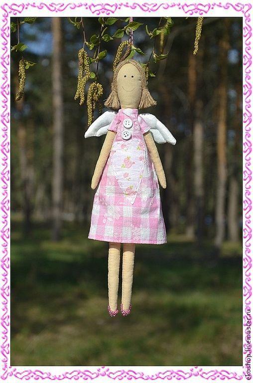 Куклы Тильды ручной работы. Ярмарка Мастеров - ручная работа. Купить Кукла Тильда Ангел. Handmade. Бледно-розовый, тильда