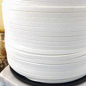 Материалы для творчества handmade. Livemaster - original item 1 m suede cord (isc.) 3 mm white (5348). Handmade.
