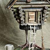 Куклы и игрушки ручной работы. Ярмарка Мастеров - ручная работа Избушка на курьих ножках. Handmade.