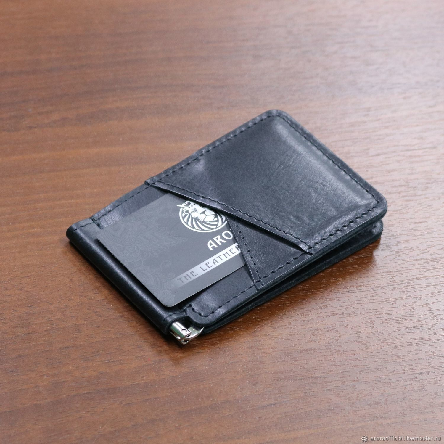 Money clip with card slots, Clamps, Moscow,  Фото №1