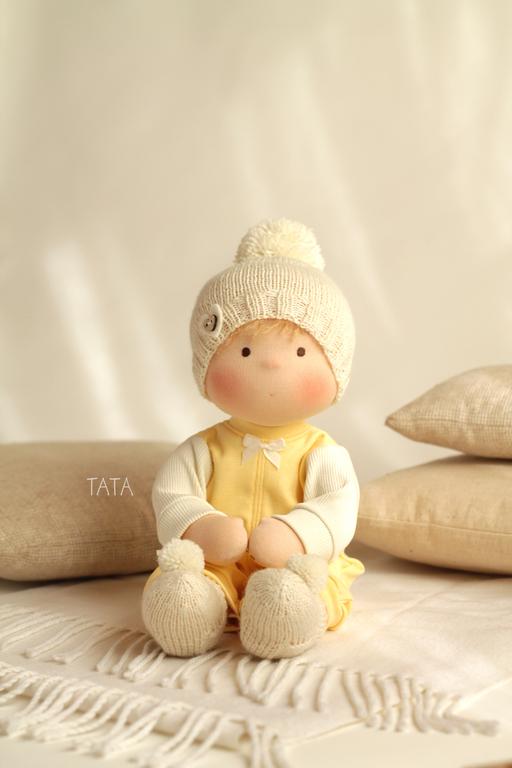 Человечки ручной работы. Ярмарка Мастеров - ручная работа. Купить Кукла Непоседа. Handmade. Вальдорфская кукла, куклы, игровая кукла