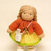 Куклы и игрушки handmade. Livemaster - original item Handmade doll, 30 cm. Handmade.