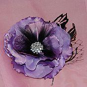 Украшения ручной работы. Ярмарка Мастеров - ручная работа Цветы из ткани. Handmade.