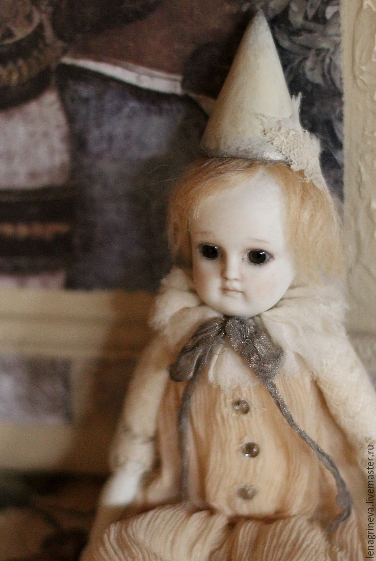 Грустный клоун, Куклы, Москва, Фото №1