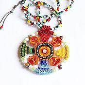 Украшения handmade. Livemaster - original item Ethnic pendant