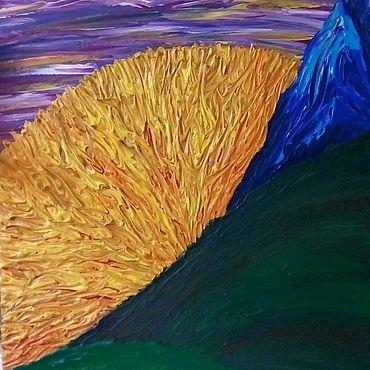 Для дома и интерьера ручной работы. Ярмарка Мастеров - ручная работа Картина Рождение. Handmade.