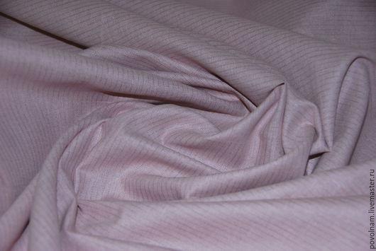 """Шитье ручной работы. Ярмарка Мастеров - ручная работа. Купить Лён-хлопок """"Леденец"""" мягкий. Handmade. Розовый, ткань для творчества"""