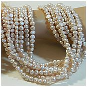 Материалы для творчества handmade. Livemaster - original item Pink pearl delicate galtovka. thread. Handmade.