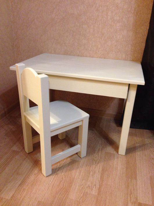 Детская ручной работы. Ярмарка Мастеров - ручная работа. Купить Набор детской мебели. Handmade. Стол, детская мебель