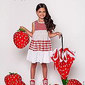 Работы для детей, ручной работы. Ярмарка Мастеров - ручная работа платье из коллекции Berry Mix. Handmade.