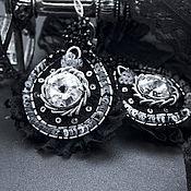 Украшения ручной работы. Ярмарка Мастеров - ручная работа Серьги вечерние. Handmade.