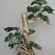 Для дома и интерьера ручной работы. Ярмарка Мастеров - ручная работа питис, скульптура из гипса с бисером. Handmade.