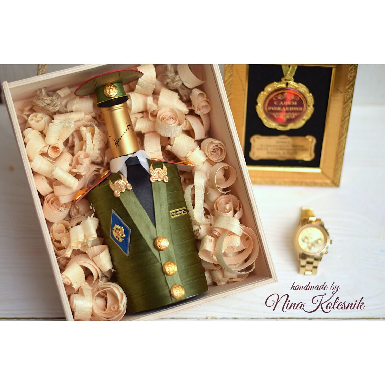 An original gift to a military man Lieutenant Colonel, Souvenirs by profession, Moscow,  Фото №1