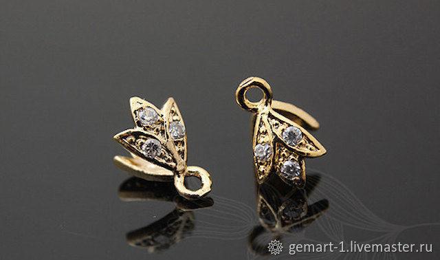 Bale clamping art. 4-11A for pendants and pendants Yu. Korea, Pendants, Moscow,  Фото №1