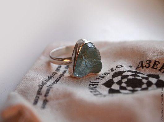 """Кольца ручной работы. Ярмарка Мастеров - ручная работа. Купить Кольцо """"Апатит"""". Handmade. Голубой, кольцо, природный апатит"""