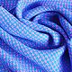"""Шарфы и шарфики ручной работы. Домотканый женский шарф """"Лиловая бирюза"""". Дарья Филоненко (CozyPlace). Ярмарка Мастеров. Шарф женский"""