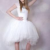 Одежда ручной работы. Ярмарка Мастеров - ручная работа Свадебная юбка-пачка из фатина. Handmade.