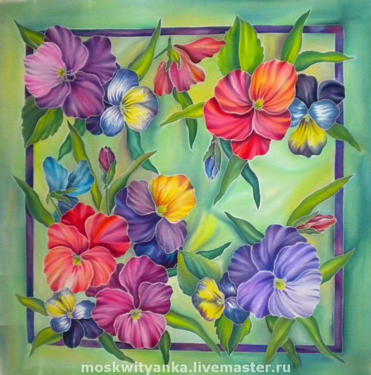 Весенние цветы в своем разнообразии.