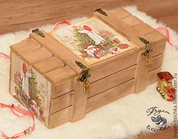 Деревянные коробки подарочные своими руками