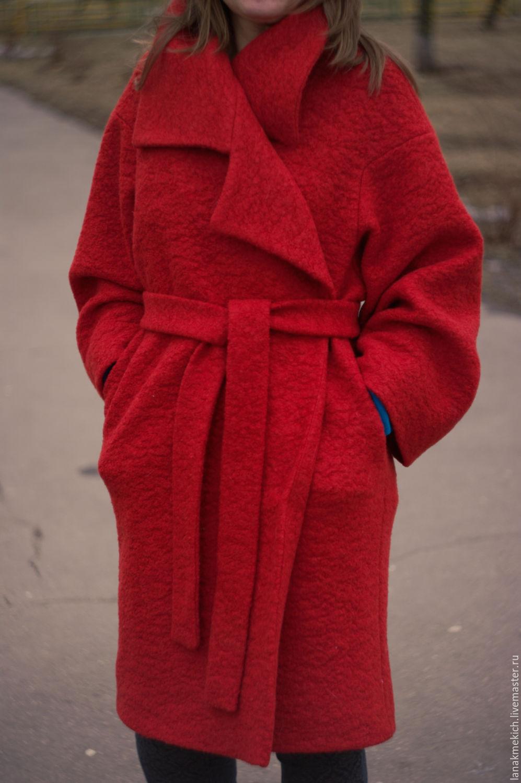 5b3daea7b7d Верхняя одежда ручной работы. Ярмарка Мастеров - ручная работа. Купить  Пальто демисезонное