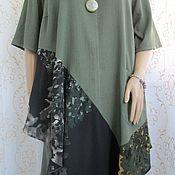 Одежда handmade. Livemaster - original item Suit green. Handmade.
