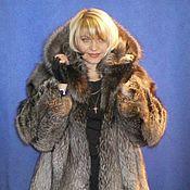 Одежда ручной работы. Ярмарка Мастеров - ручная работа Полушубок из лисы. Handmade.