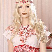 Одежда ручной работы. Ярмарка Мастеров - ручная работа Платье для новогодней вечеринки. Handmade.
