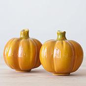 Для дома и интерьера handmade. Livemaster - original item Pumpkin ceramic small. Handmade.