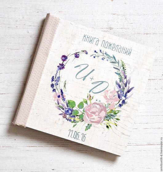 Свадебные фотоальбомы ручной работы. Ярмарка Мастеров - ручная работа. Купить Свадебная книга пожеланий в деревянной обложке 3. Handmade.