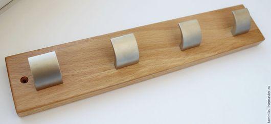 """Прихожая ручной работы. Ярмарка Мастеров - ручная работа. Купить Настенная вешалка с крючками """"клавиша"""". Handmade. Вешалка в прихожую, деревянный"""