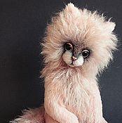 Куклы и игрушки ручной работы. Ярмарка Мастеров - ручная работа Нежно-розовая кошь). Handmade.