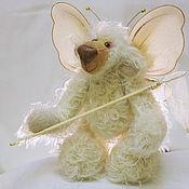 Куклы и игрушки ручной работы. Ярмарка Мастеров - ручная работа Мишка-тедди почти бабочка. Handmade.