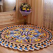 Для дома и интерьера handmade. Livemaster - original item Handmade carpet colorful