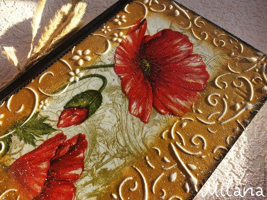 маки, красные маки, красный мак, ежедневник с маками, ежедневник, ежедневник декупаж, ежедневник ручной работы, ежедневник золото, женский ежедневник, ежедневник в подарок, не датированный ежедневник