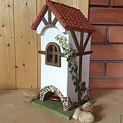 Для дома и интерьера ручной работы. Ярмарка Мастеров - ручная работа Чайный домик в стиле фахверк. Handmade.