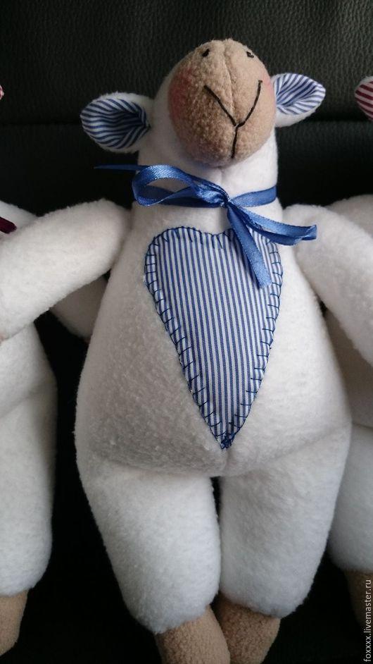 Куклы Тильды ручной работы. Ярмарка Мастеров - ручная работа. Купить овечка белая. Handmade. Белый, игрушка ручной работы