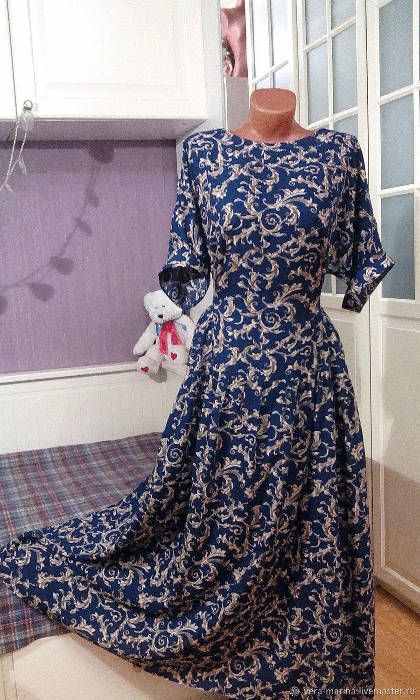 c838136a182 Платья ручной работы. Ярмарка Мастеров - ручная работа. Купить Штапельное платье  бохо Лидия. ...